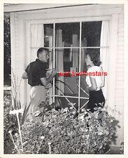 Vintage Natalie Wood & Nick Adams EARLY 50s CANDID Portrait by JACK ALBIN