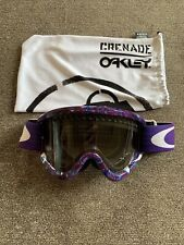 Vintage Oakley Grenade sunglasses shield goggles