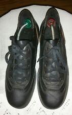 Top Marc O' Polo Sneaker Herrenschuhe Halbschuhe  Schwarz Leder Gr.43 UK9