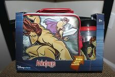 DISNEY ADVENTURERS LUNCH BOX WITH CARRY ALONG CANTEEN ... BRAND NEW
