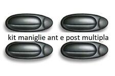 KIT SERIE MANIGLIE APRIPORTA ESTERNE 2 ANT + 2 POST NERE 4PEZZI FIAT MULTIPLA