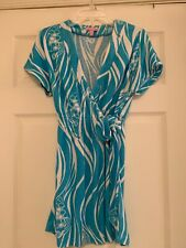 VGUC Lilly Pulitzer Terry Wrap In Joe Fish, S