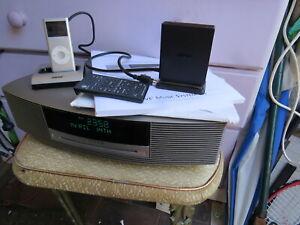 Bose wave music system iii radio cd Bluetooth Ipod adapter