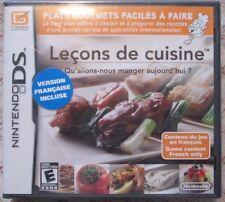 Nintendo DS Leçons de cuisine (Brand new)