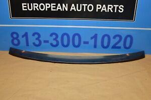 2014 W218 MERCEDES CLS550 REAR TRUNK LID DECK LID SPOILER WING CHARCOAL