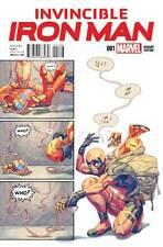 Invincible Iron Man #1 Yasmine Putri Party Deadpool Variant Comic Book Marvel