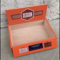 CAO Session Empty Wooden Cigar Box