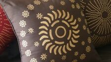 Decorative Cushion - Pillow - Brown - Gold