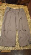 Old Navy 100% polyester capri pants,  green capris, cropped pants