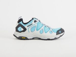 Womens Jack Wolfskin Frequence Trail Blue Textile Walking Hiking Lace Trainers