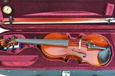Violine 3/4 Größe Komplett-Set vollmassiv TOP-Schüler Instrument