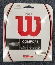 Wilson NXT 16 Gauge 1.30mm Tennis String NEW Natural