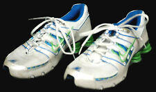 Women's NIKE SHOX Athletic Running Shoes 318434-115 - Size 8.5