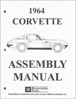 1964 Corvette Factory Assembly Manual 64 Chevy Chevrolet