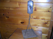 Vintage Brass LANDERS SPRING SCALE with Tray / 30 lbs. Capicity