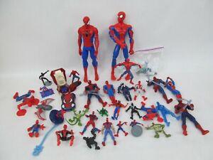 Large Lot of Marvel Spider-Man Action Figures – Talking, Lizard, Venom, Etc