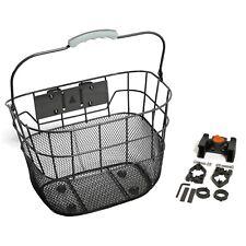 Bikecorp FBQRBK Quick Release Front Basket - Black
