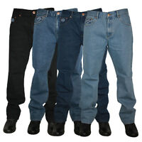 BB MENS FORGE BY KAM JEANS F101 COMFORT FIT JEANS ALL WAIST & LEG BIG KING SIZES