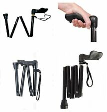 Ergonomic Grip Lightweight Folding Walking Stick Right Handed