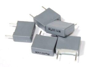 0.022uF 0.022µF 630V 10% Mkt Polyester Film Capacitors/Film Capacitors