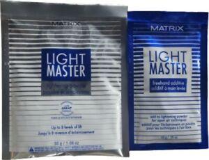 Matrix Light Master Lightening Powder 1.06 Oz & Freehand Additive .35 Oz DUO