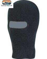 Black Knitted One Hole SAS Balaclava Army Hunting Winter Fishing Paintball Hat