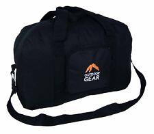 Outdoor Gear Foldaway Black Hand Luggage Bag Holdall Lightweight 55 x 36 x 20cms