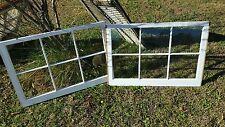 VINTAGE SASH ANTIQUE WOOD WINDOW UNIQUE FRAME PINTEREST WEDDING 36x24 SET OF 2