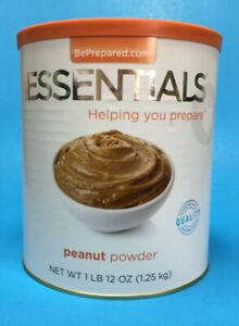Emergency Essentials Peanut Powder Emergeny Food ~ Good Protein ~ The Wise Prep