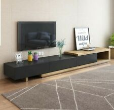 Modern Tv Cabinet Tv Stand Wooden Storage Entertainment Unit