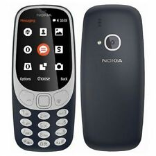Teléfonos móviles libres azules Nokia con 8 GB de almacenaje