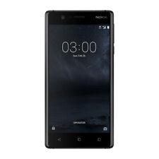 """NUOVO Nokia 5 BLACK 5.2"""" 16 GB OCTA CORE 2 GB LTE Android 7.1 SIM Gratis Sbloccato UK"""