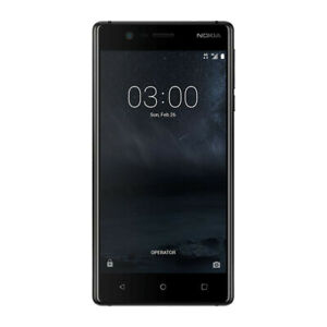 "New Nokia 5 Black 5.2"" 16GB Octa Core 2GB LTE Android 7.1 Sim Free Unlocked UK"