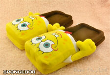 New Spongebob Squarepants Soft Plush Stuffed Slippers Indoor Slippers