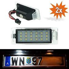 SMD LED Kennzeichenbeleuchtung CHEVROLET Camaro Cruze Kennzeichenleuchten L01