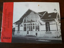 Horaires SNCF Gare de Villennes sur Seine 1989 1990