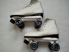 Vintage Roller Derby Roller Skates Roller Star Women's Size 10 White