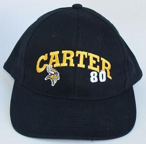 Cris Carter #80 Minnesota Vikings NFL Baseball Cap Hat Adjustable by GAME DAY