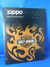 ZIPPO 2009 HARLEY DAVIDSON COLLECTION CATALOG LIGHTER ACCESSORIES ADVERTISING