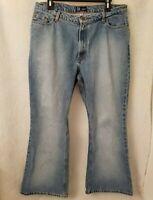 So GSJC Juniors Womens Blue Jeans Pants Size 15 Short