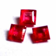 Very Good No Transparent Loose Natural Rubies