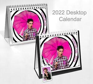 Yungblud Dominic Richard Harriso 2022 Office Desktop Holiday Calendar + Key ring