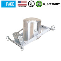 6-INCH NEW CONSTRUCTION SLOPE CAN AIR TIGHT HOUSING RECESSED LED LIGHT
