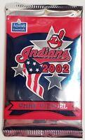 2002 OMAR VIZQUEL DONRUSS BASEBALL CARD PLAYER PACK Cleveland Indians SGA MINT!