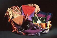 Felt Purses & Shoulder Bag Collection 1 Fiber Trends Knitting Felt Pattern AC-7