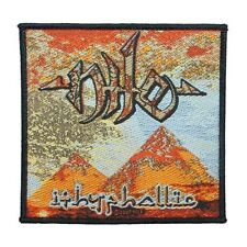 """Nile: Ithyphallic"" Egyptian Death Metal Album Band Art Sew On Applique Patch"