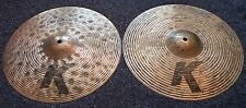 "Zildjian K Custom High Definition 14"" Hi-Hat Cymbals"