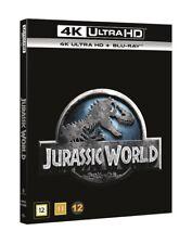 Jurassic World 4K UHD + Blu Ray (slipcover)