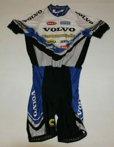 Vintage 90`s Cycling Cannondale Volvo Skinsuit Size-L NLV