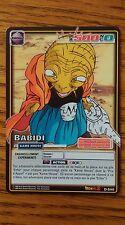Carte Dragon ball Z Babidi D-540